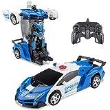 Yanaze RC Car for Kids Transformation Robot Car, Remote...