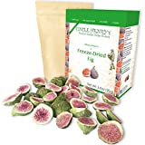 Freeze Dried Fig: Delicious Fruits 3.4oz (95g) Large Bulk Re-Sealable Bag in a Sturdy Protective Box: Taste Like Fresh Figs, the Ultimate Snack and Breakfast. Original Green Top Quality