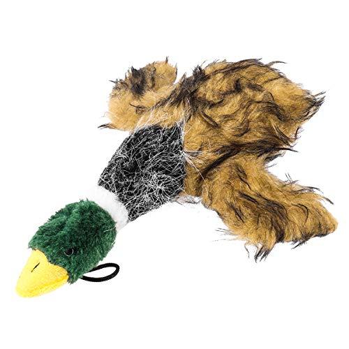 UEETEK Hund Ente Spielzeug, Haustier Hund Plüschtier Quietschen Spielzeug, Hund Interaktives Spielzeug Kauen Spielzeug mit Sounds für Hundetraining Übung