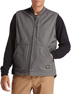 Timberland PRO mens Gritman Lined Canvas Vest