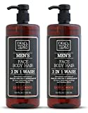 Dead Sea Collection Men's Mineral Face, Hair & Body Wash with Sandal-wood Extract known to sooth the...