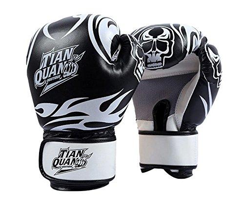 Boxe - Kickboxing Glove Gants Finger complet, noir
