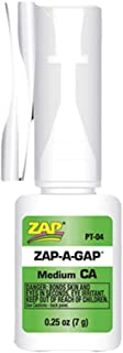 Zap-A-Gap Fly Fishing Adhesives - Medium CA+