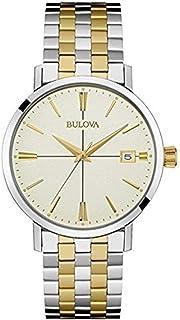 Bulova - 98B255 Pulsera de oro de dos tonos