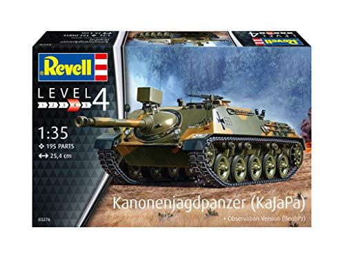 Revell REV-03276 Kanonenjagdpanzer + Observation Version (BeobPz) Toys, Mehrfarbig