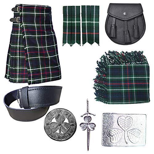 All Kilts Sports Men's Wedding Kilt Outfit Deals - 8 Items in Deal (Mackenzie, 40'')