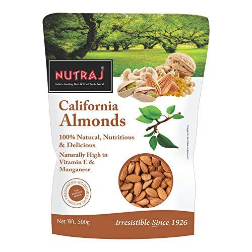 Nutraj California Almonds, 500g