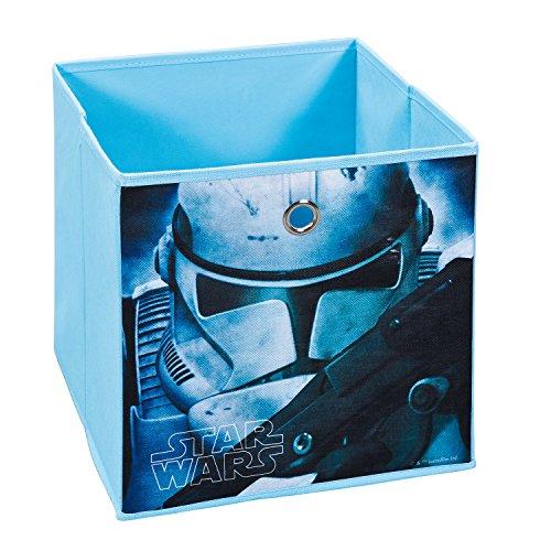 Inter Link Faltbox Aufbewahrungsbox Korb Regalbox Faltkiste im Star Wars Stil