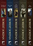 The Wheel of Time, Books 1-4: (The Eye of the World, The Great Hunt, The Dragon Reborn, The Shadow Rising, New Spring: The Novel) (English Edition)