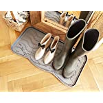 Nicoman Boot Shoe Tray Rack Mat Printed PAWS(1-Pack)