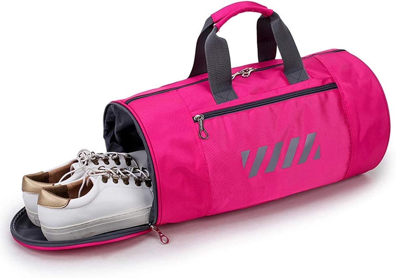 Gym Duffel Bag Gym Sports Bag Dry Wet Separated Shoulder Tote Bag Travel Holdall Sports Bag for Men and Women