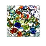 Startonight Cuadro sobre Vidrio Bolas de Cristal, Impresion en Calidad Fotografica Pintura Listo Para Colgar Diseño Moderno Decoración Formato Grande 60 x 60 CM
