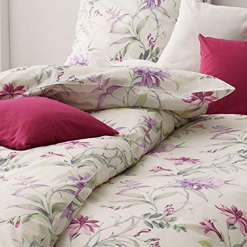 ESTELLA Mako-Interlock-Jersey Bettwäsche 6155-060 violett 1 Bettbezug 135x200 cm + 1 Kissenbezug 80x80 cm