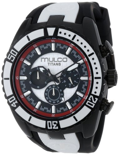 MULCO Unisex MW5-1836-026 Analog Chronograph Swiss Watch