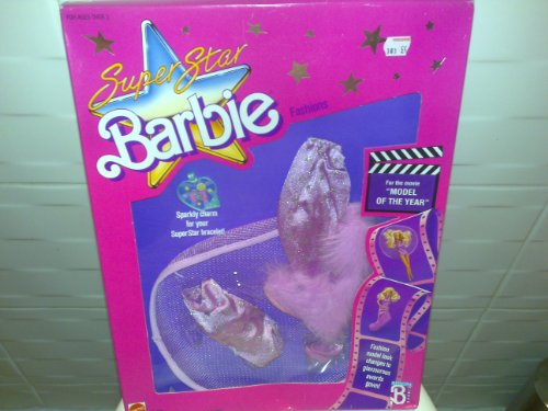 1988 BARBIE SUPERSTAR FASHIONS~Modelo del Año #3301