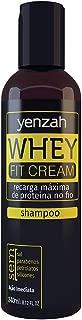 Shampoo Whey Fit Cream, Yenzah, Branco