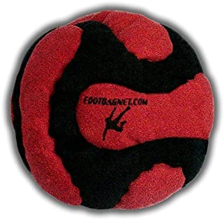 Pandemonium Footbag Footbag Volcano 14 Panels Hacky Sack Pro Bag Pellets & Iron Weighted At 2.1 Onces