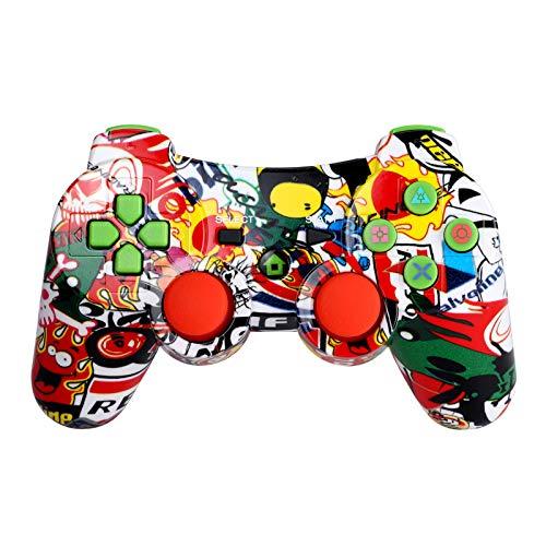 Bluetooth Wireless Game-Controller Wireless-Joystick Gamepad für PS3 Videospiele Griff Joystick Topker