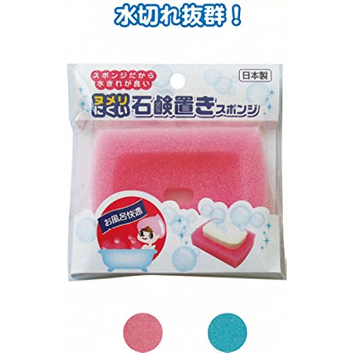 ヌメリにくい石鹸置きスポンジ(日本製 japan) 【まとめ買い12個セット】 40-983