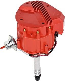 A-Team Performance HEI Distributor 65K Coil 7500 RPM Compatible with Chevrolet Chevy GM GMC Small Block Big Block SBC BBC 262 265 267 283 302 305 307 327 350 383 400 SBC &396 427 454 Super Red Cap