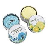 Ucradle Shampoo Bar, Natural Shampoo Bars Vegan Organic Bar Shampoo Gift Set Anti Dandruff, Hair...