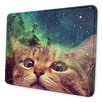 3 dかわいい宇宙猫動物 マウスパッド 大型 デスクマット Pcマット 防水超大型 ゲーミングマウスパッド おしゃれ 防水 耐久性 滑り止め オフィス ゲーム