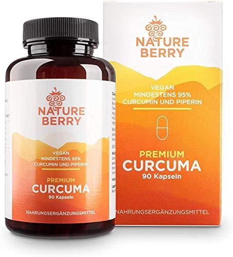 Curcuma Premium con 95% di curcumina e piperina – 90 capsule vegane
