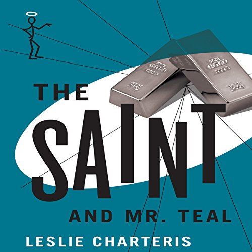 The Saint and Mr Teal audiobook cover art