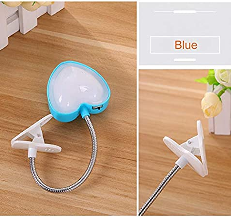 Aoliao Mini Clip LED Book Light Clip Light Reading Lamp for Reading in Bed at Night for Bookworms Kids Travel