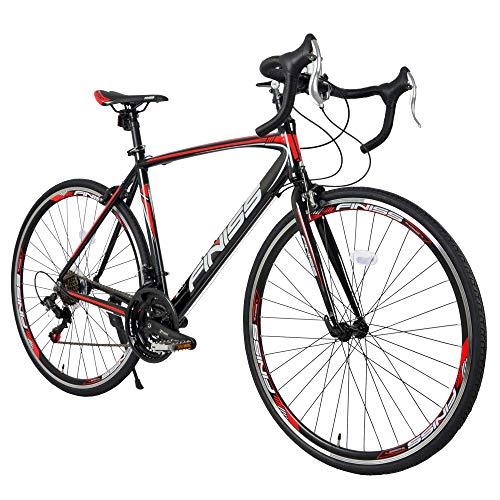 Merax Finiss 26' Aluminum 21 Speed Mountain Bike...