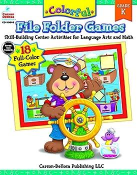 Colorful File Folder Games Grade K  Colorful Game Books