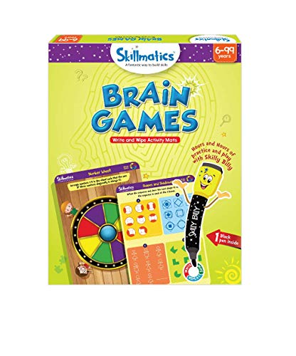Skillmatics Educational Game: Brain Games (6-99...