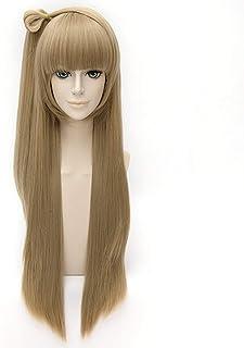 HOOLAZA Linen Long Straight Bangs Wig Lovelive Minami Kotori Cosplay Wig