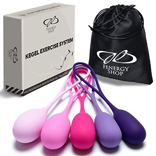 Kegel Balls System for Women - Doctor Recommended Pelvic Floor Exercises - Weighted Balls - Kegel Exerciser Weight Kit - Kegel Balls Weighted Exercise Set - Weight Training Balls