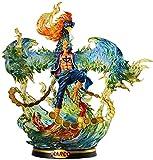 YLLAND Una Pieza Figura Marco The Phoenix PVC Figura 1/4 Muñeca Coleccionable de la Estatua para niños Adultos y fanáticos de Anime - 15.7 Pulgadas (50 cm) LNNDE