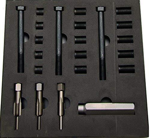 BGS 8651 | Reparatursatz für Glühkerzengewinde | M12 x 1,25