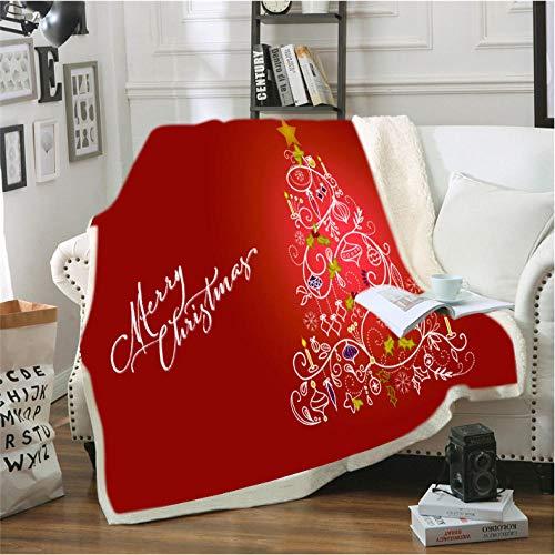 Pmhc gebruikersvriendelijke DIY Kerstmis picknick wandelschoen sofa flanel deken Schotland patroon aangepaste bedrukte flanel Throw sprei deken
