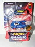 Sega Sonic AllStars Racing Vehicle with 1.5 Inch Figure Sonic