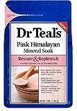 Dr Teal's Restore & Replenish Pink Himalayan Mineral Soak - 3lbs