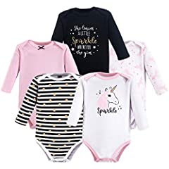 Set includes coordinating long-sleeve bodysuits Made with 100% cotton Soft, gentle and comfortable on baby's skin Optimal for everyday use Affordable, high quality value pack