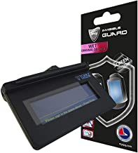 IPG for Topaz Signature Pads Screen Protector SigLite T-S460 / T-S460-BT/T-S461 / T-L460 / T-LBK460 / T-LBK460-BT/TM-LBK460 3 Units Free Replacement Warranty Clear Bubble Free Screen Protection
