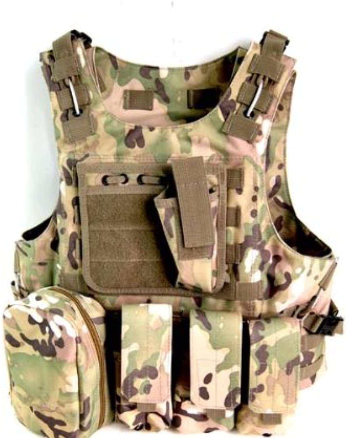 Tactical Molle Vest with Hydration Water Reservoir Predective Waistcoats