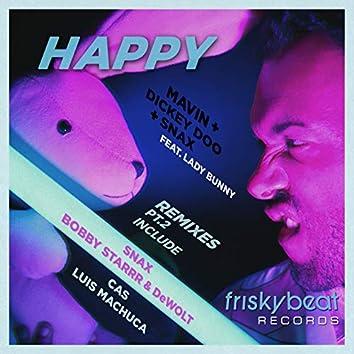 Happy (feat. Lady Bunny) [Remixes, Pt. 2]