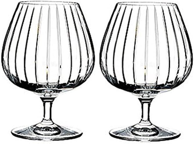 Rogaska Avenue brandy glass 2 Clear set 1 Very popular! Weekly update