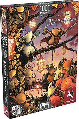 Pegasus Spiele 76004G - Puzzle: Mouse Guard (Das Fest), 1.000 Teile