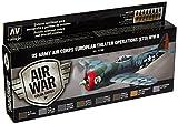 Acrylicos Vallejo'Nosotros fuerzas aéreas operaciones de teatro Europea Oce segunda guerra mundial' Model Air Set