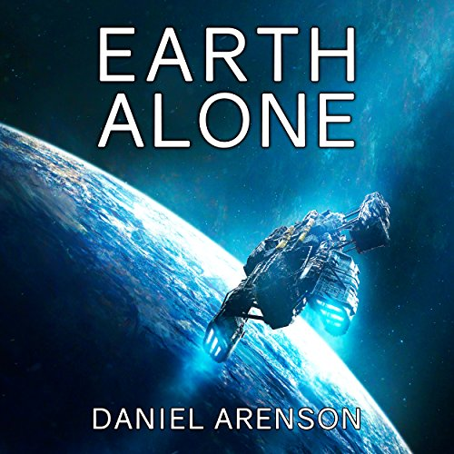Earth Alone audiobook cover art