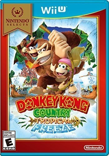 Donkey Kong: Tropical Freeze – Wiii U – Standard Edition