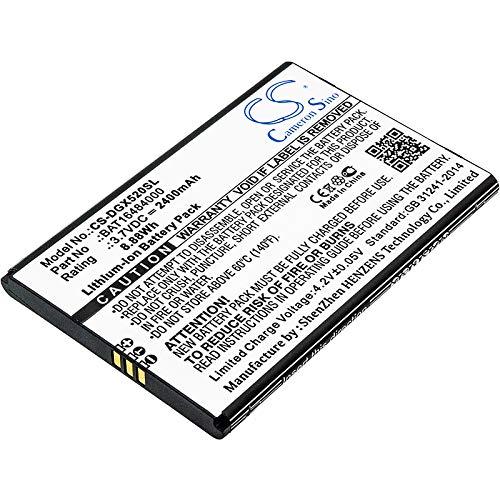 CS-DGX520SL Batería 2400mAh Compatible con [DOOGEE] X5 MAX Pro sustituye BAT16484000