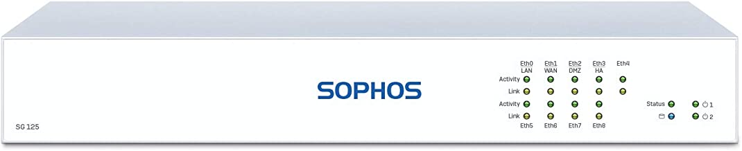Sophos SG 125 rev.3 UTM Network Security Appliance